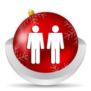 gay men at christmas